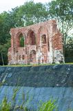 Old church ruins Stock Images