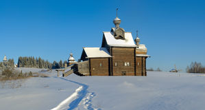Old church in Russia Stock Image