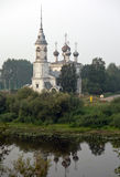 Old church in Russian town of Vologda Royalty Free Stock Image