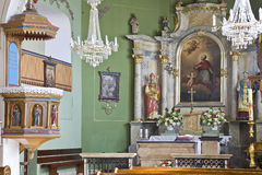 Church interior Stock Image