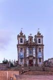 Old church of Saint Ildefonso, Porto, Portugal royalty free stock image
