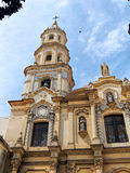 Old church. In San Telmo, Buenos Aires, Argentina stock photo
