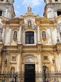 Old church. In San Telmo, Buenos Aires, Argentina stock photos