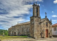 Old church of Sanfins de Ferreira Stock Photography