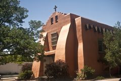 Old Church in Santa Fe Stock Photos
