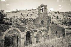The old church of Santa Maria di Cartignano Stock Photography