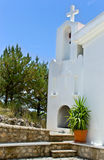 old church santorini Stock Image