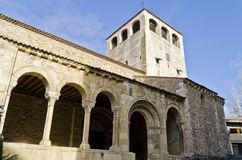 Old church in Segovia - Spain Royalty Free Stock Photography