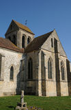 The old church of Seraincourt Royalty Free Stock Photo