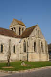 The old church of Seraincourt in Ile de France Stock Photography