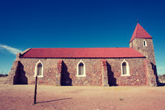Old church. Shot in Warmbad, Namibia Royalty Free Stock Image