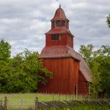 Old church at Skansen Stock Images