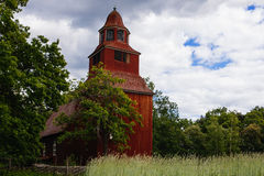 Old church at Skansen Stock Photos