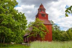 Old church at Skansen Royalty Free Stock Images