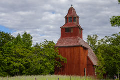 Old church at Skansen, open-air museum Stock Images