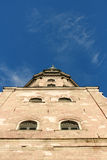 Old church and sky. Old church on a background bright sky Royalty Free Stock Photography