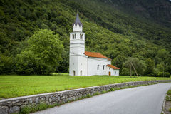 Old church in Slovenia Stock Photography