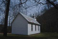Old Church. In Smokey Mountain Natn'l Park Royalty Free Stock Photos