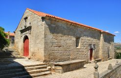 Old church of Sortelha. Portugal Stock Photos
