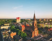 Old Church in Sosnowiec Royalty Free Stock Photography