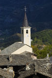 Old church spire in Susa no.1 Stock Photography