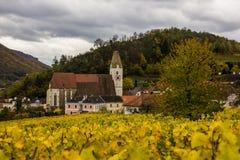 Old church in Spitz, Austria. Royalty Free Stock Photos