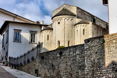 Old church, Spoleto Royalty Free Stock Images