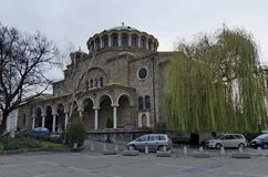 The old church St. Nedelya in Sofia Stock Images