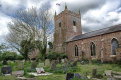 Old Church. St Peter`s,Trusthorpe,incolnshire old church Stock Photos