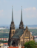 Old church of St. Peter and St. Paul, Brno, Czech Republic, Europe Royalty Free Stock Photography