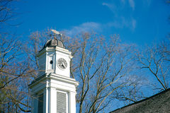 Old church steeple Allaire Village New Jersey Stock Photos