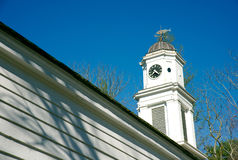 Old church steeple Allaire Park New Jersey Royalty Free Stock Image