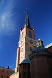 Old church in Stockholm city. Sweden stock photo
