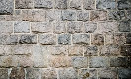 Old church stone wall background texture Royalty Free Stock Images