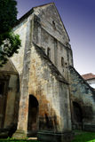 Old church with strong walls Royalty Free Stock Photo
