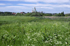 Old church in Suzdal Stock Photos