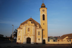Old church in Swakopmund Royalty Free Stock Image
