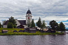 Old church in Sweden Royalty Free Stock Photo