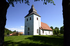 Old church in Sweden Stock Images