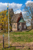 Old church in Sweden. Royalty Free Stock Photography