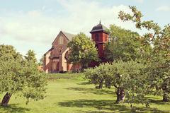 Old church, Sweden. Royalty Free Stock Photography