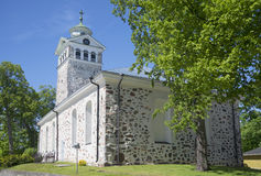 The old Church in Tammisaari. Finland Stock Photography
