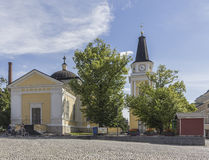 Old church. Of Tampere in Finland royalty free stock photos