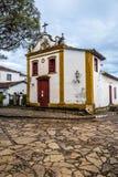 Traditional Brazilian church stock image