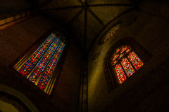 Old church in Toulouse royalty free stock images