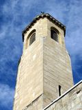 Old church tower in Jerusalem Stock Photo