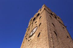 Old church tower Stock Photography