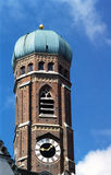 Old church tower in Munich Royalty Free Stock Photos