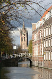 Old Church Tower Of Delft