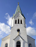 Old church tower in Sweden Royalty Free Stock Image
